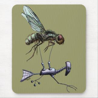 Aviador de la mosca alfombrilla de ratones