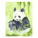 Aviador de la panda gigante tarjetón