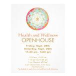 """Aviador de la salud y de la salud de la mandala de folleto 8.5"""" x 11"""""""