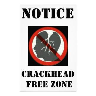 """AVIADOR DE LA ZONA FRANCA DE CRACKHEAD FOLLETO 5.5"""" X 8.5"""""""