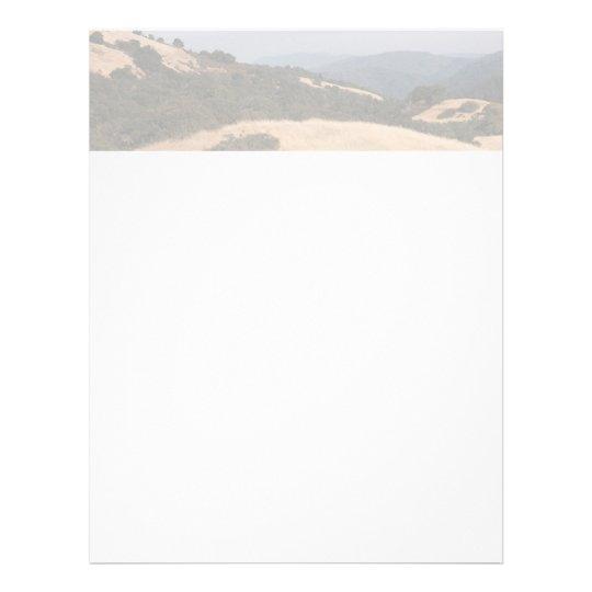 "Aviador de las colinas de California Folleto 8.5"" X 11"""