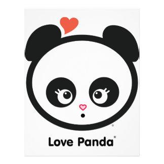 "Aviador de Panda® del amor Folleto 8.5"" X 11"""