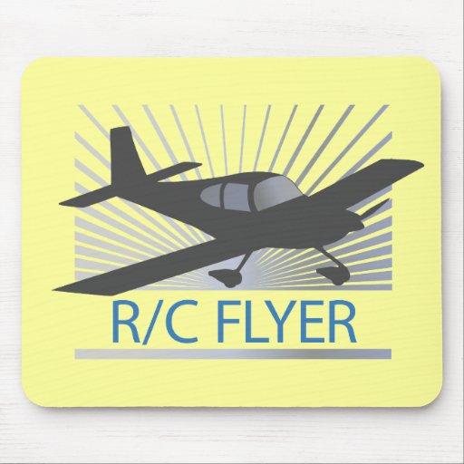 Aviador de R/C Alfombrilla De Ratón