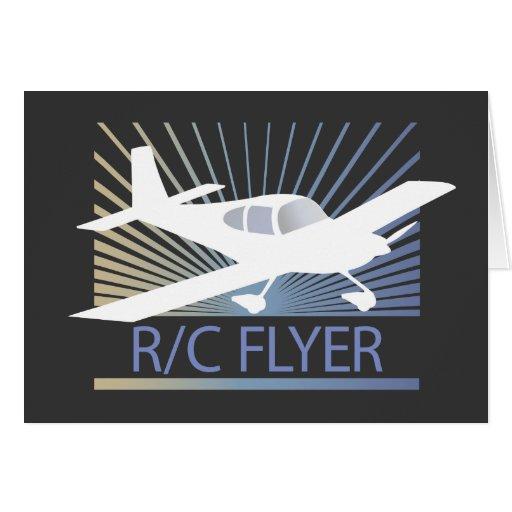 Aviador de R/C Felicitaciones
