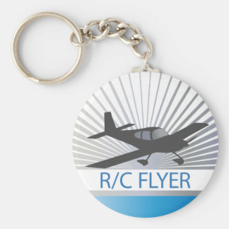 Aviador de R/C Llavero Redondo Tipo Pin