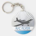 Aviador de R/C Llaveros Personalizados