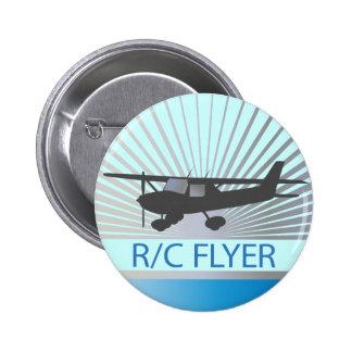 Aviador de R/C Pin Redondo De 2 Pulgadas