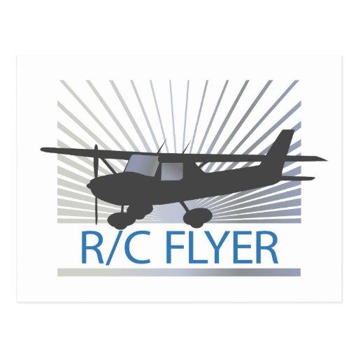 Aviador de R/C Postales