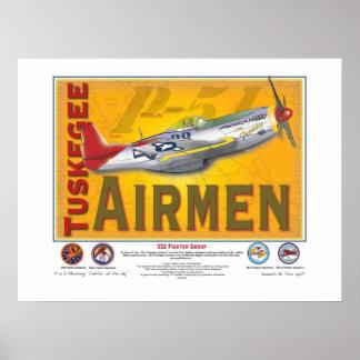 Aviador de Tuskegee Póster