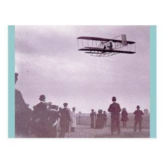 """Aviador de Wright """"de la materia de Wright"""" Postal"""