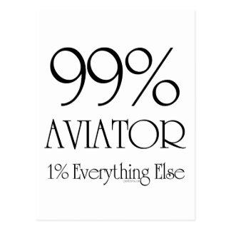 Aviador del 99% postales