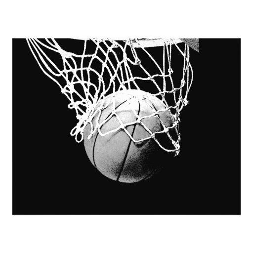 Aviador del baloncesto tarjetas informativas