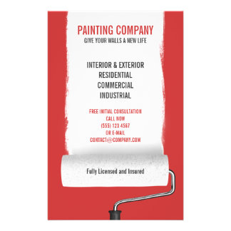 "Aviador del contratista de Painting Company del Folleto 5.5"" X 8.5"""