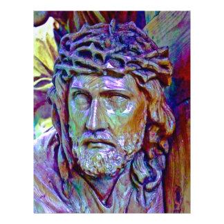 Aviador del cristiano de Jesús Tarjetones