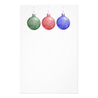 Aviador del día de fiesta - ornamentos del navidad tarjeton