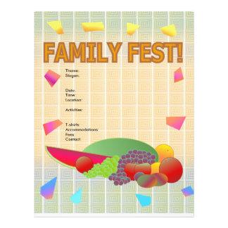 Aviador del Fest de la familia Flyer A Todo Color