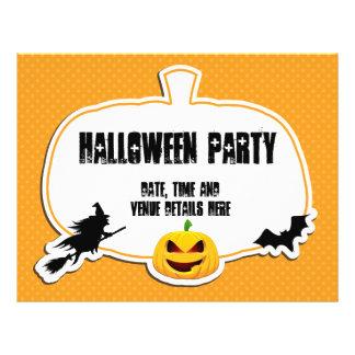Aviador del fiesta de Halloween del Grunge Flyer Personalizado