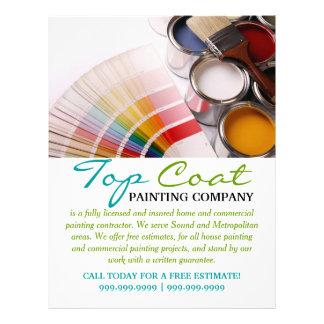 Aviador del negocio de construcción de Painting Plantilla De Membrete