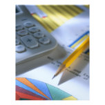 Aviador del negocio de la empresa de contabilidad flyer personalizado