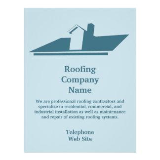 Aviador del negocio de Roofing Company Tarjetas Publicitarias