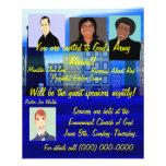 Aviador del renacimiento de la iglesia tarjetas informativas