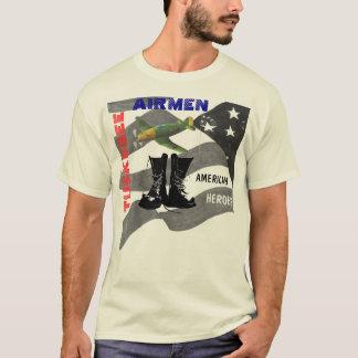 aviador del tuskegee playera