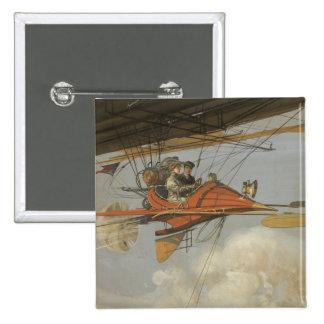 Aviador del vapor pin cuadrado