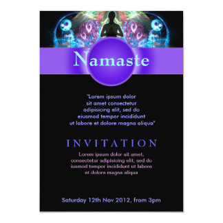 Aviador espiritual holístico Invit del Invitación 12,7 X 17,8 Cm