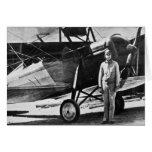 Aviador legendario Merle Fogg Tarjeta De Felicitación