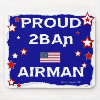 Aviador orgulloso 2BAn - en honor - Mousepad