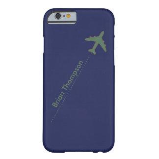 aviador personalizado funda para iPhone 6 barely there