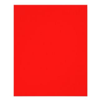 Aviador rojo de neón brillante tarjetas informativas