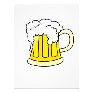 """Aviadores adaptables de la taza de cerveza folleto 8.5"""" x 11"""""""