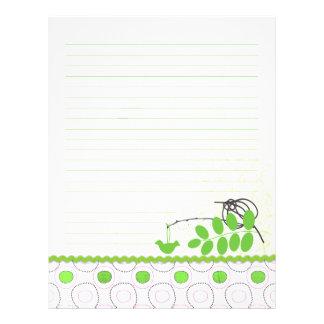 """Aviadores alineados carpeta verde de la sensación folleto 8.5"""" x 11"""""""