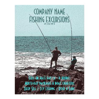 Aviadores de la pesca - personalizable tarjetas publicitarias