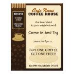 Aviadores de la taza de café del café de la cafete tarjetón