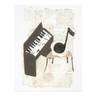 Aviadores de las notas musicales