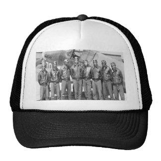 Aviadores de Tuskegee, grupo de colas rojo Gorras
