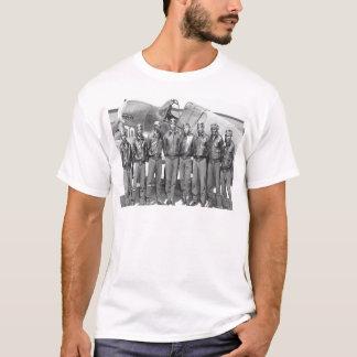 Aviadores de Tuskegee, grupo de colas rojo Playera