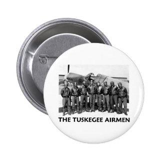 Aviadores de Tuskegee Pin Redondo 5 Cm