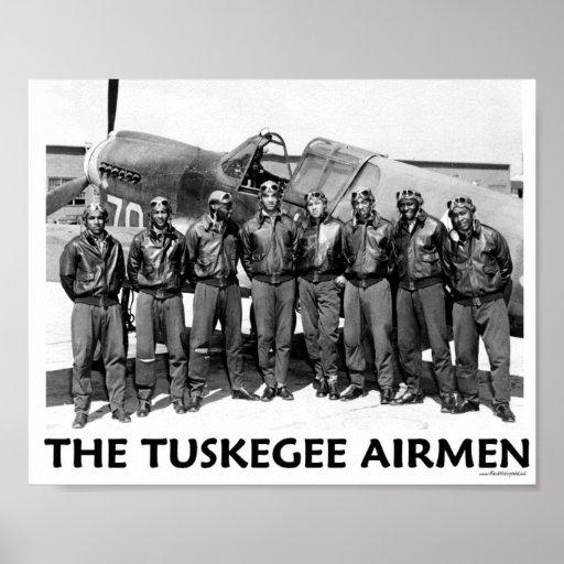 Aviadores de Tuskegee Poster