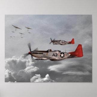 Aviadores de Tuskegee Póster