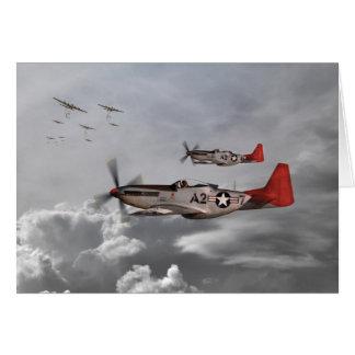 Aviadores de Tuskegee Felicitación