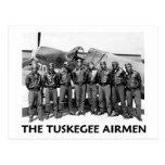 Aviadores de Tuskegee Tarjeta Postal