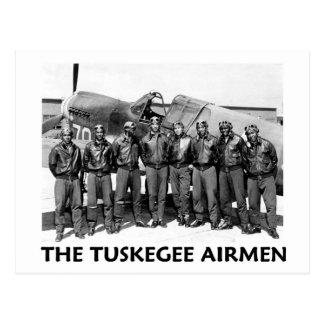 Aviadores de Tuskegee Tarjetas Postales