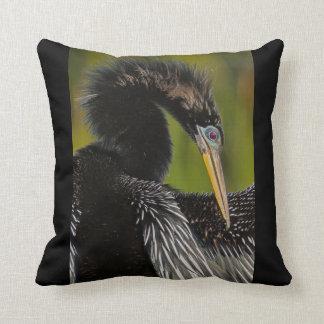 Avian Elegance Throw Pillows