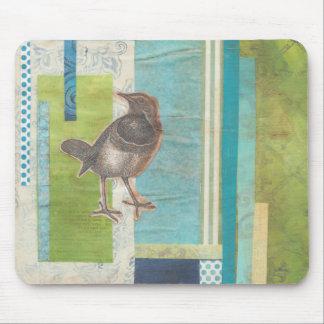 Avian Scrapbook I Mouse Pad