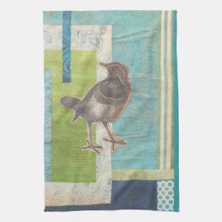 Avian Scrapbook I Towels