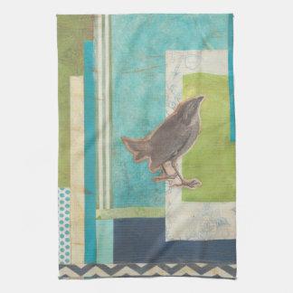 Avian Scrapbook II Kitchen Towels