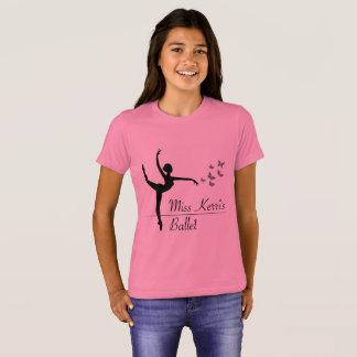 Aviano Ballet Program Girls Quote Shirt